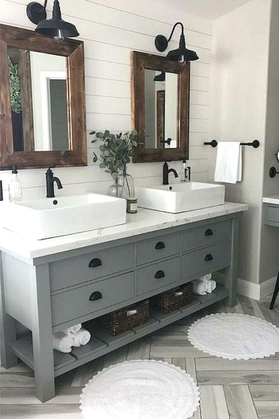 17 schicke kleine Badezimmerideen (das inspiriert dich sehr .