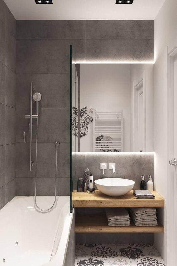 25+ Kleine Badezimmerideen Optimieren Sie den Raum .