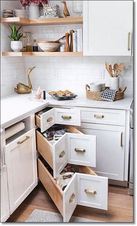 35 kleine Küche Designs für Küche umgestalten. Kabinenempfehlung .