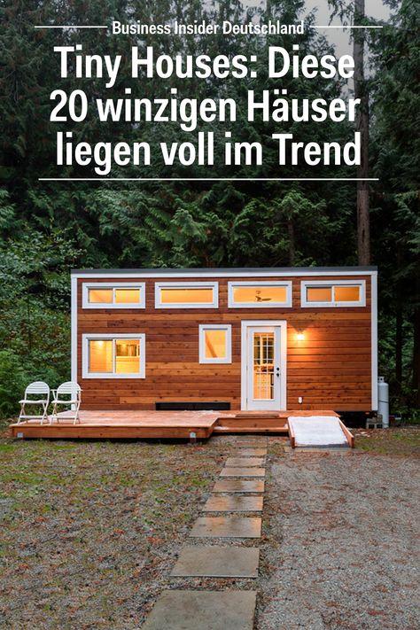 Kleine Häuser: Diese 20 Mini-Häuser liegen im Trend. Artikel: BI .