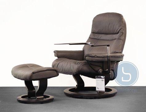 Creme Leder Relaxliege Sessel Wingback Rocker Recliner Möbelhäuser .