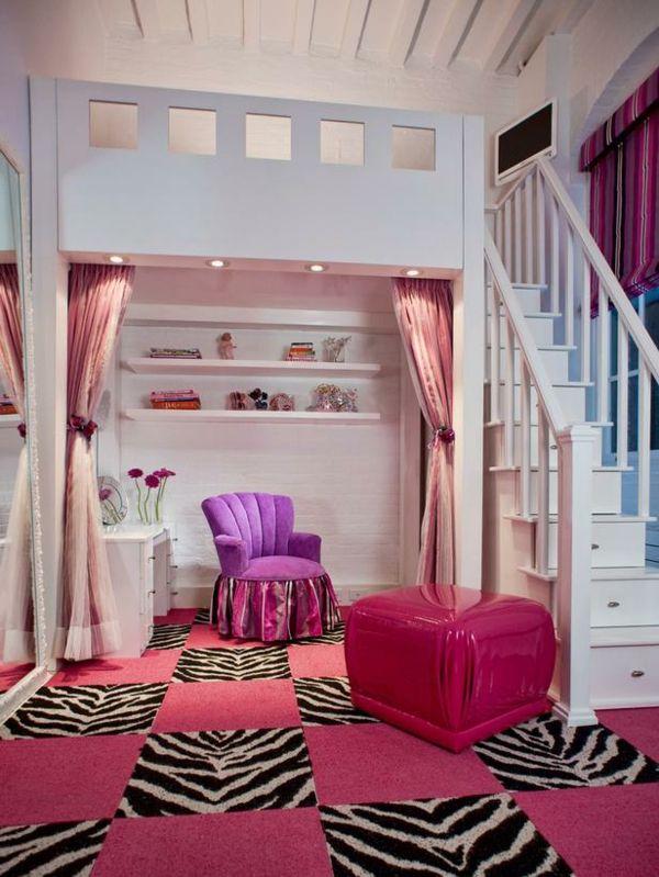 Hochbett im Kinderzimmer - 100 coole Etagenbetten für Kinder .