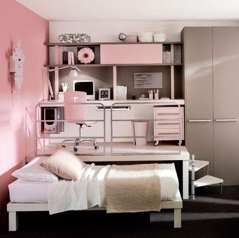 Kleines Schlafzimmer Ideen Für Teenager Mädchen - Schlafzimmer .