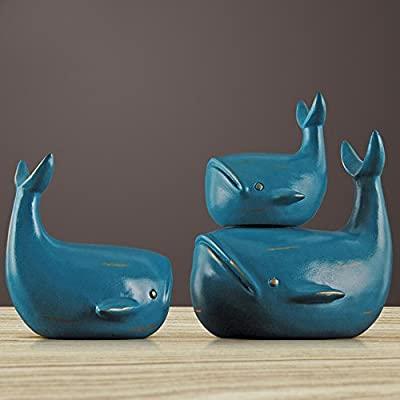 Amazon.de: XJRHB Whale Ornamente Wohnzimmer Weinschrank .