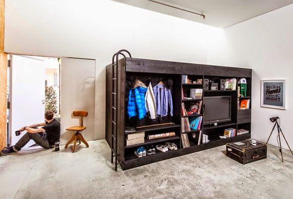 Kleine Raummöbel | Platzsparende möbel, Modulare möbel und Platz .