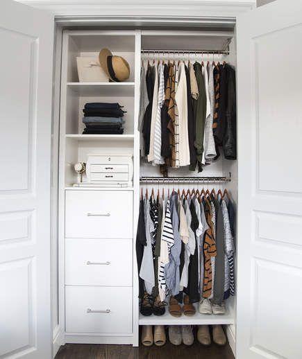 Closet Ideen für kleine Schränke - #closet #ideen #kleine .