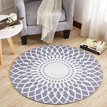 Amazon.de: SZSY Kunst Große/Kleine Teppiche Mode Runden Teppich .