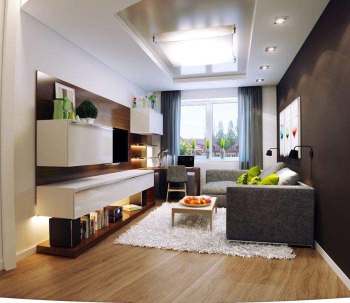 ▷ 1001 Wohnzimmer Ideen für kleine Räume zum Entlehnen .