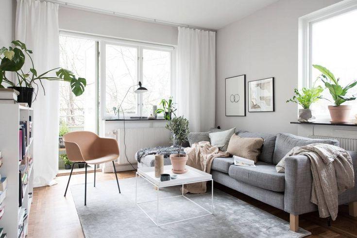 Kleine Wohnzimmerideen, die von zeitgenössisch bis traditionell .