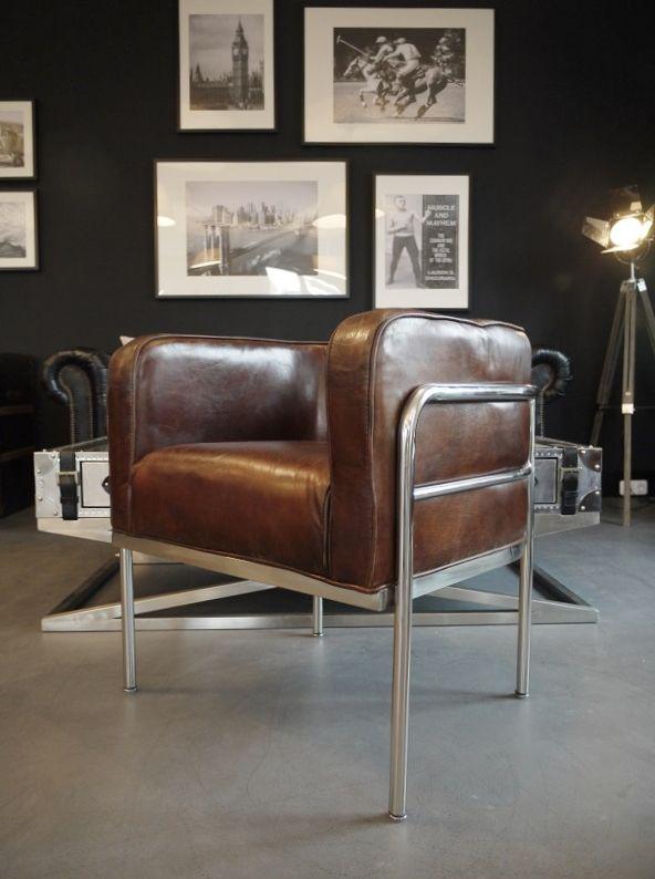 Kleine Schwarze Leder Sessel Design   Ledersessel braun, Sessel .