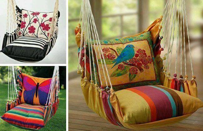Kleiner Sessel für Schlafzimmer