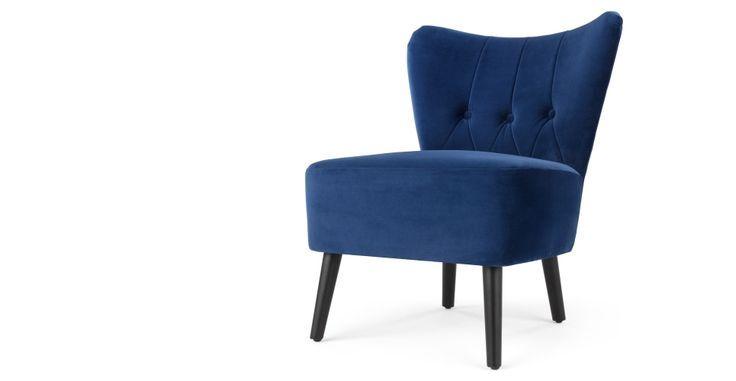 Ottoman Sessel Für Kleine Räume, Wohnzimmer Stühle Blaue .