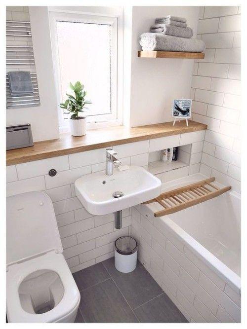 Kleines Badezimmer – clevere Tricks, die das Bad größer erscheinen .