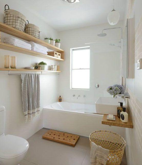 modernes kleines Badezimmer - #Badezimmer #kleines .