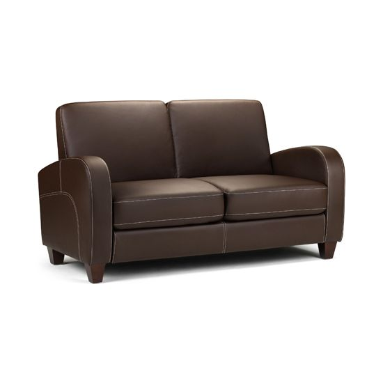 Small Leather Couch for Small Living Room | Kunstleder sofa .
