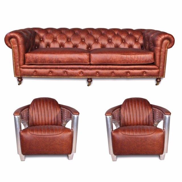 Leder-Liegesessel: ein bisschen Lederhimmel | Sessel, Braunes .