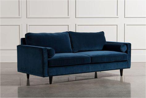 Qualität 2er sofa Mit Recamiere | Blaues ledersofa, Ledersofa .