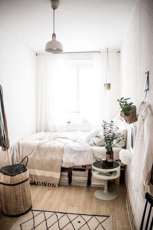 Kleines Schlafzimmer ganz groß   Kleines schlafzimmer .