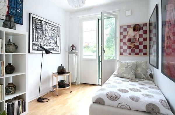 adorable kleines Schlafzimmer interior design .