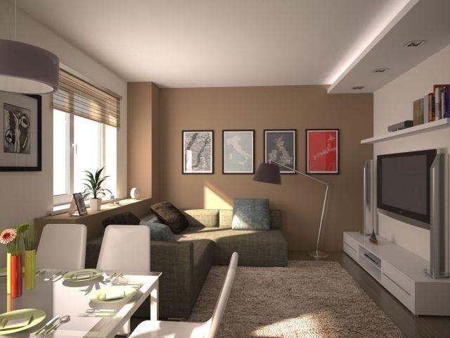Kleines Wohnzimmer modern einrichten – Tipps und Beispiele .