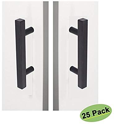 homdiy Black Cabinet Pulls 3 inch Matte Black Cabinet Hardware .