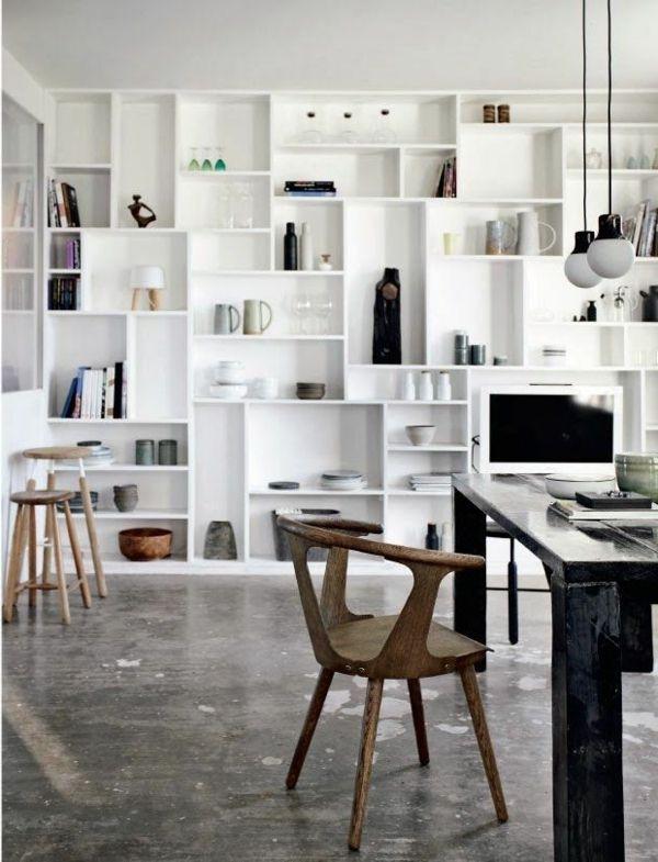 Regalsysteme helfen Ihnen, Ihre Gegenstände zu organisieren .