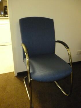 Konferenzraumstuhl gepolsterte Besprechungstisch BesucherStapel in .