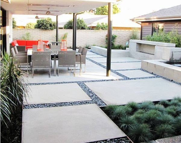 Inspiring Patio Design Ideas with Natural Atmosphere: Large Diy .