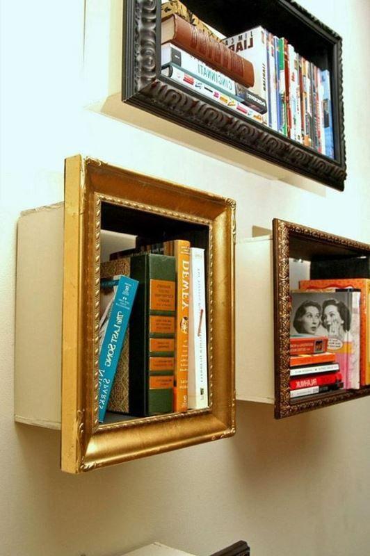 14 kreative Bücherregale für Leseratten   Creative bookshelves .
