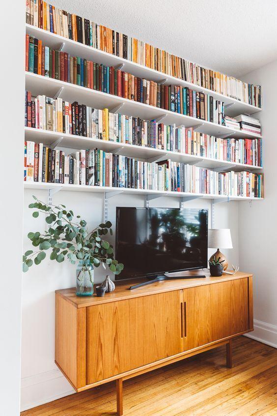 60 kreative Ideen für Bücherregale, um Ihr Zuhause zu verschönern .