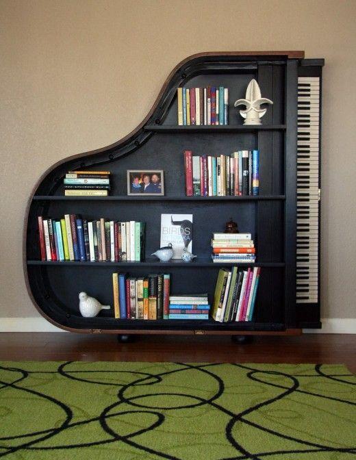 9 kreative Ideen für dein Bücherregal   Bücherregal ideen .