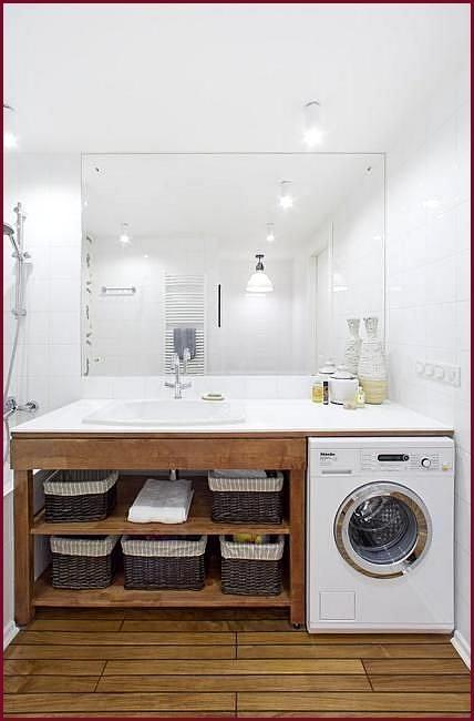 Alternative Orte für Ihre Waschmaschine, kreative Ideen für kleine .