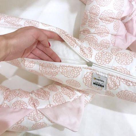 Rosa Drachen Blumen Krippe Stoßstange Krippe Stoßstange | Etsy .