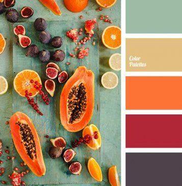 67 Ideen Küche Farbschemata Orange Herbst Hochzeit in 2020 .