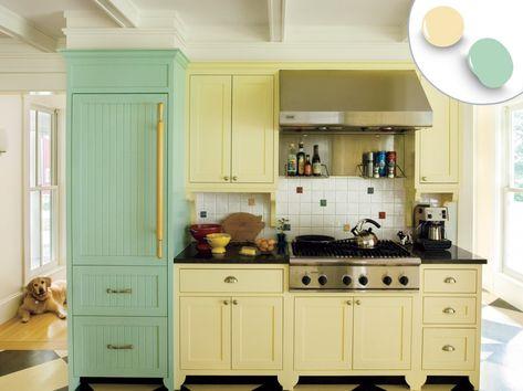 Küchenschränke Farbe Kombination (mit Bildern) | Küche farbideen .