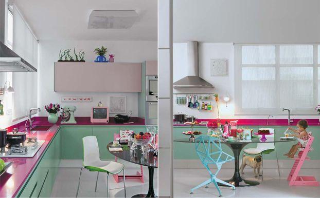 Inspirierende Küche Farbschemata | Küchen | Küche farbe, Küchen .