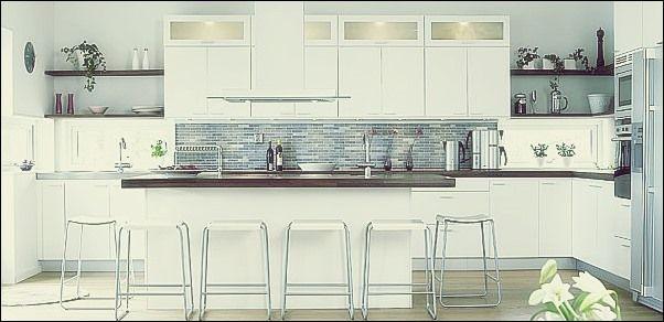 Malen Sie Farben, die in der Küche schön aussehen würden | Farbige .