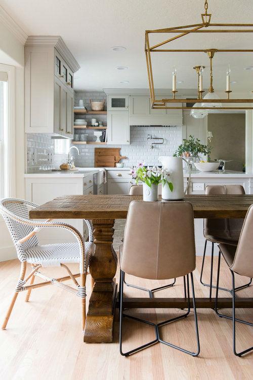 Immergrüne Küche umgestalten - Zimmerdekorati