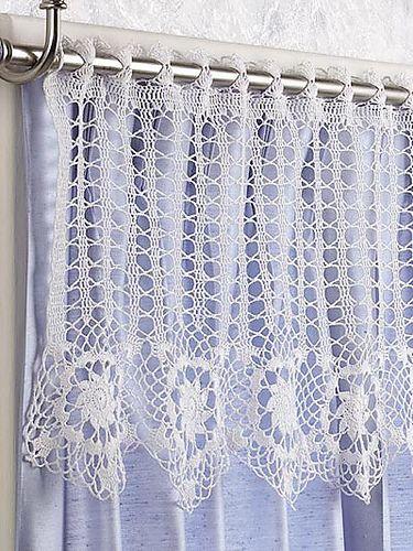Ravelry: Star Flowers Valance pattern by Josie Rabier | Gemusterte .