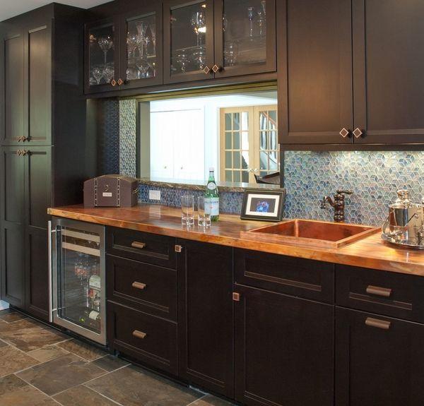 Kupfer-Arbeitsplatten – wunderschöne Küchenarbeitsplatten mit .