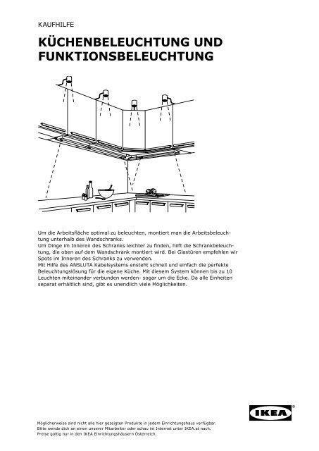 küchenbeleuchtung und funktionsbeleuchtung - IKEA.c