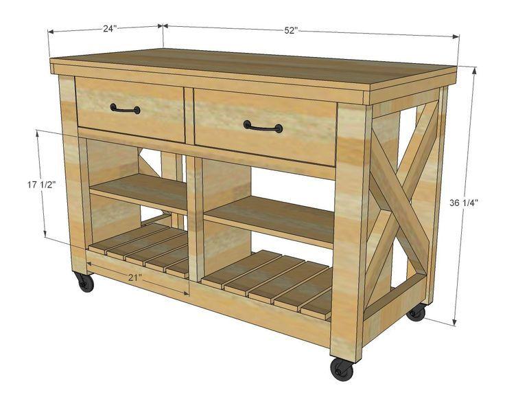 Rustikale Kücheninsel Ideen, Mobile Kücheninsel Platz Kücheninsel .