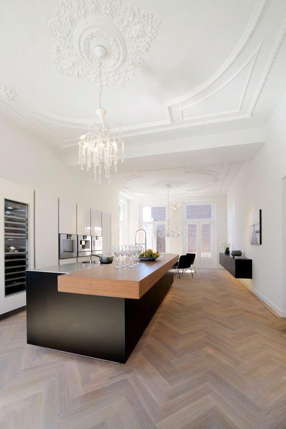 Über 25 Kücheninsel-Ideen mit Sitzgelegenheiten und Stauraum .