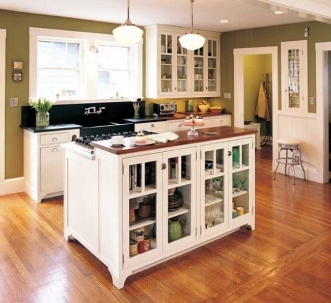 105 Ideen für Küche mit Kochinsel in verschiedenen Einrichtungsstil