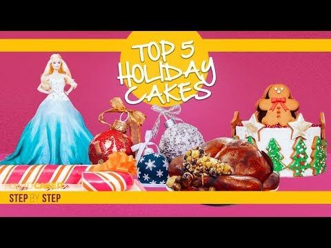 Top 5 Holiday Cakes Compilation   Mindblowing Cakes for Christmas .