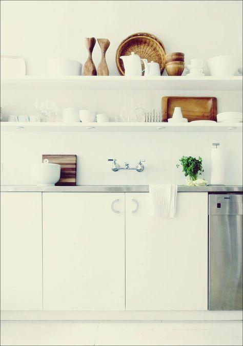 So gestalten Sie Ihr offenes Küchenregal   Offene küchenregale .