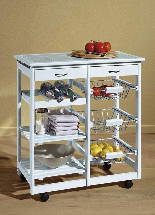 Küchenwagen in verschiedenen Ausführungen - Küchenmöbel | Brigitte .