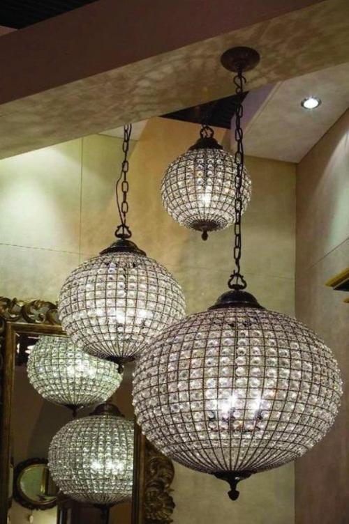 Glas Kugel Kronleuchter Dekoration - wunderschönes Ambien
