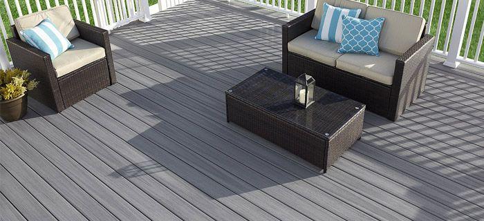 Holz-Kunststoff-Decking ist einer der neuesten Trends und bietet .