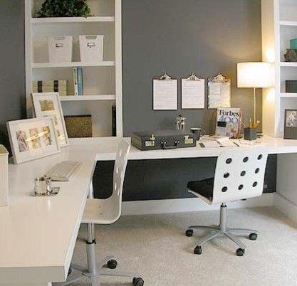 l geformter Schreibtisch ikea Home Office Modern mit modernem Büro .